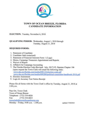 Qualifying Documents - Council